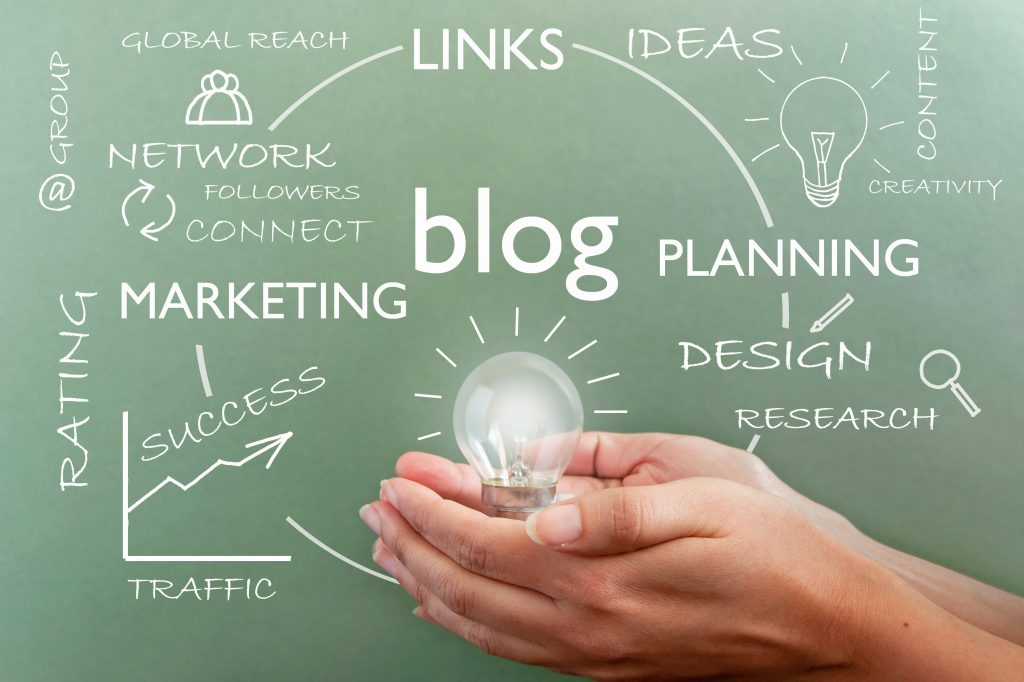 How blog writing fits into business success